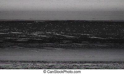 Television Screen Digital Pixel Snow Noise - Unique design...