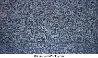 Television signal tv noise screen with static caused by bad reception the flicker