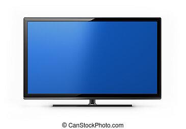 television skärma, nymodig