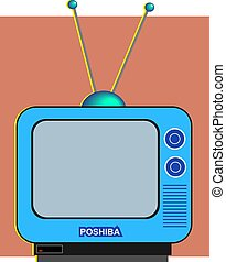Television - Portable telly.