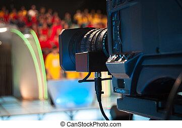 Television studio camera