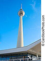 Television Tower, Berlin - Modern Berlin Television Tower ...