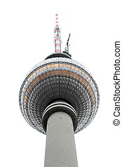 Television tower in Berlin, Germany