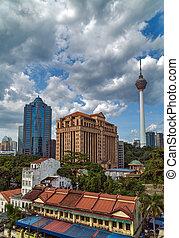 television tower in Kuala Lumpur, Malaysia