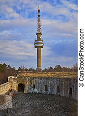 Television Tower near the Fort, Silistra, Bulgaria