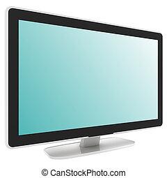 televisione schermo piano