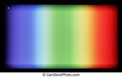 televisione, tavoletta, colorare, modello, economico, modelli, macchina fotografica, prova, fotografato