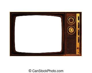 televisione, vecchio