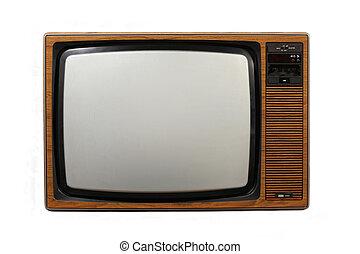 televisore, retro