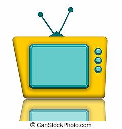 televize, eda