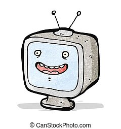 telewizja, litera, rysunek