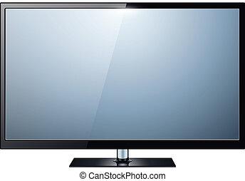 telewizja, odizolowany