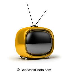 telewizja, retro