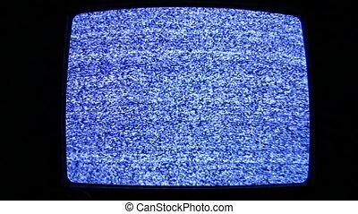 telewizja, sygnał, nie