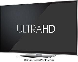 telewizja, ultra, hd