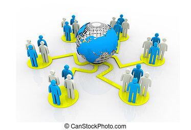 teljes hálózat