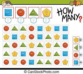 telling, preschool, activiteit
