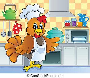 tema, 4, image, køkken