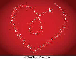 tema, amore, luminoso, hea, stelle