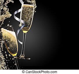 tema, champaña