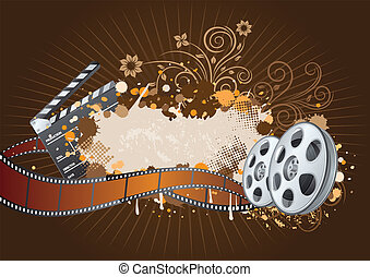 tema, film, fondo