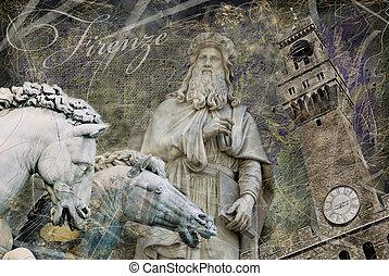 tema, florens, bakgrund
