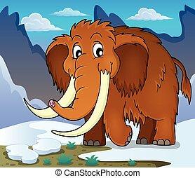tema, mammut