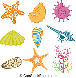 tema, oceânicos, ícone