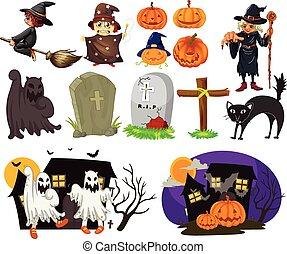 temat, halloween