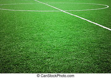 temat, piłka nożna, albo, piłka nożna