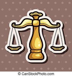 temat, waga, prawny, elementy