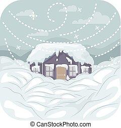 tempête neige