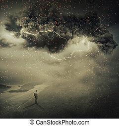 tempête sable