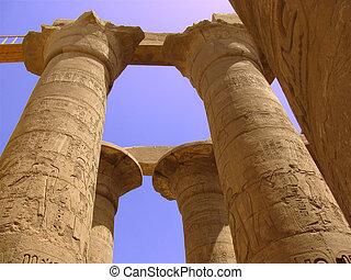 tempel, egyptisch
