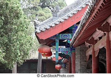 tempel, in, shao, lin, china