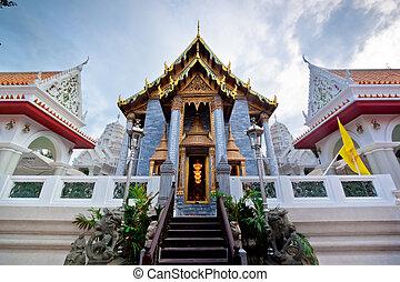tempel, thailand, bangkok, buddhist, thailändisch
