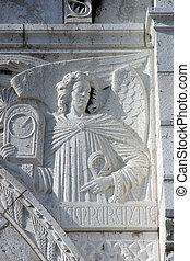 temperantia, basilique, coeur de sacre