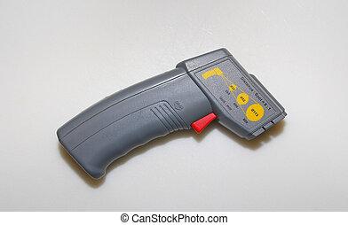 temperatura, arma de fuego
