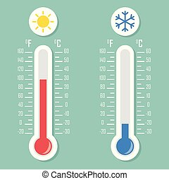 Temperature Vector Illustration