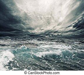 tempesta, oceano