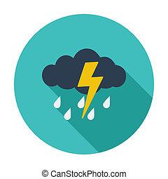 tempestade, ícone