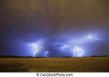 tempestade relâmpago