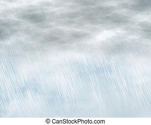 tempestade, tempo, fundos, chuva, nublado