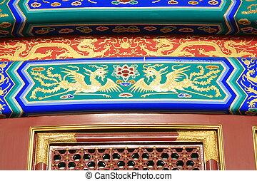 tempio cielo, dettaglio