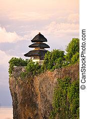 tempio, indonesia., uluwatu, bali