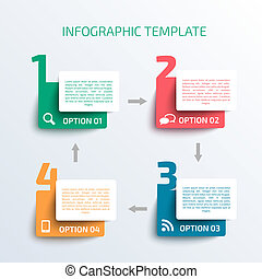 template., ビジネス, infographics