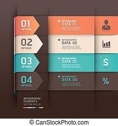 template., 矢, infographics