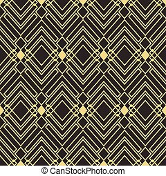 Template Abstract art deco