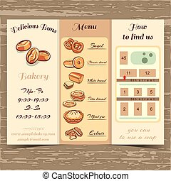 Template Booklet Bakery