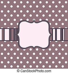 Template cards, vector
